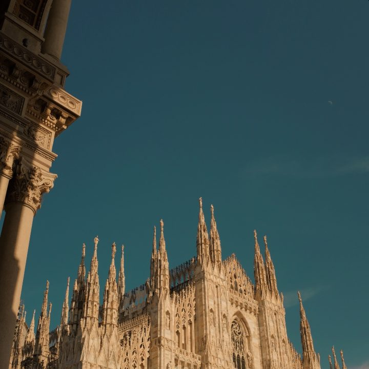 24 hours in Milan, Italy.